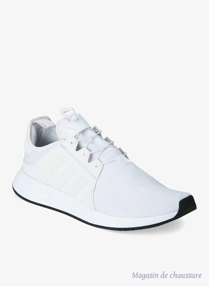 adidas chaussures homme basket blanc